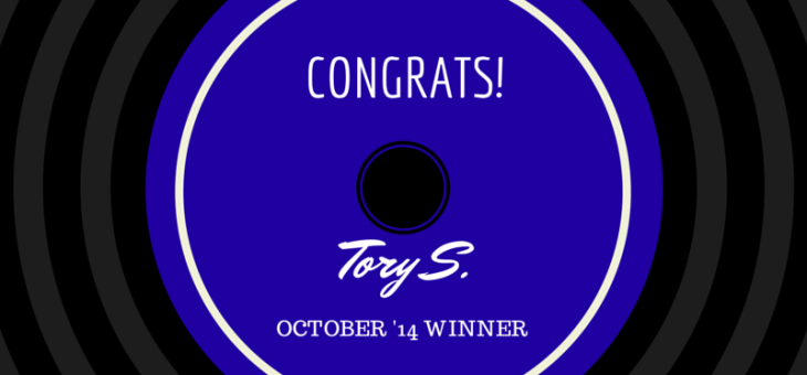 Congrats to October's TA Survey Winner!