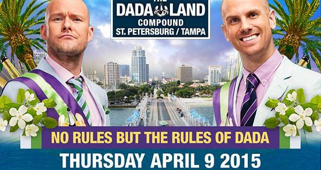 Show Preview: Dada Life Presents Dada Land Compound @ Jannus Live 4/9