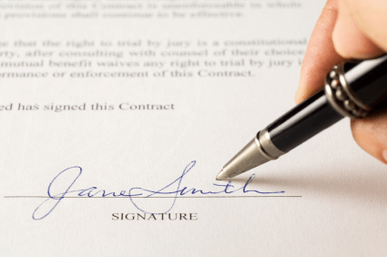 What is privity of contract?