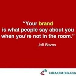 personal branding quote jeff bezos