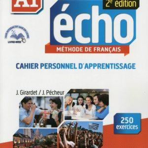 ECHO A1 CAHIER PERSONNEL D'APPRENTISSAGE