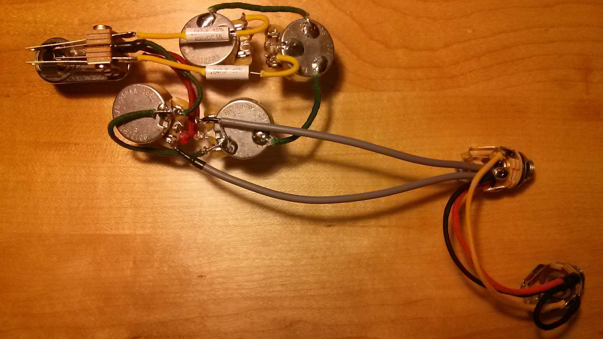 Rickenbacker 4003 Custom Wiring Talkbasscom