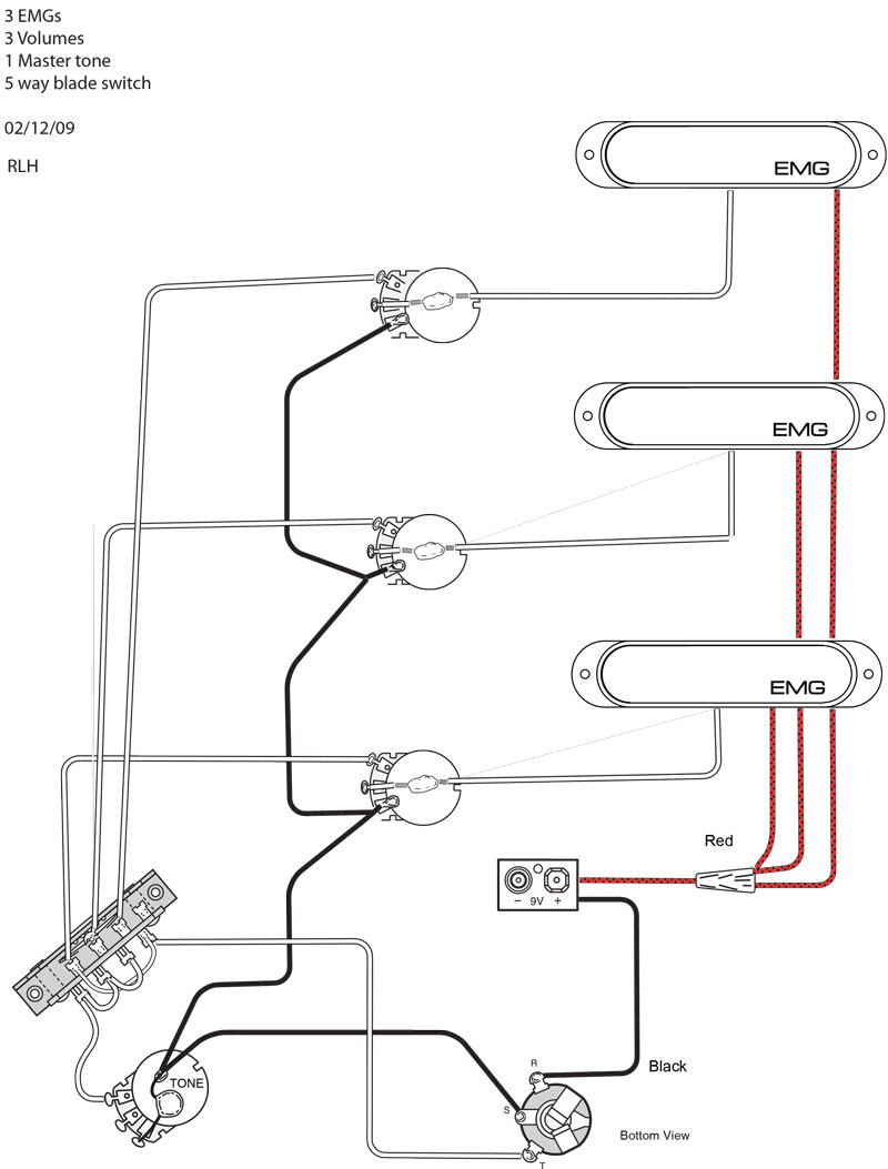 Active Humbucker Wiring Diagram