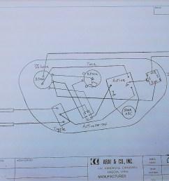 aria bass wiring diagram [ 1024 x 768 Pixel ]