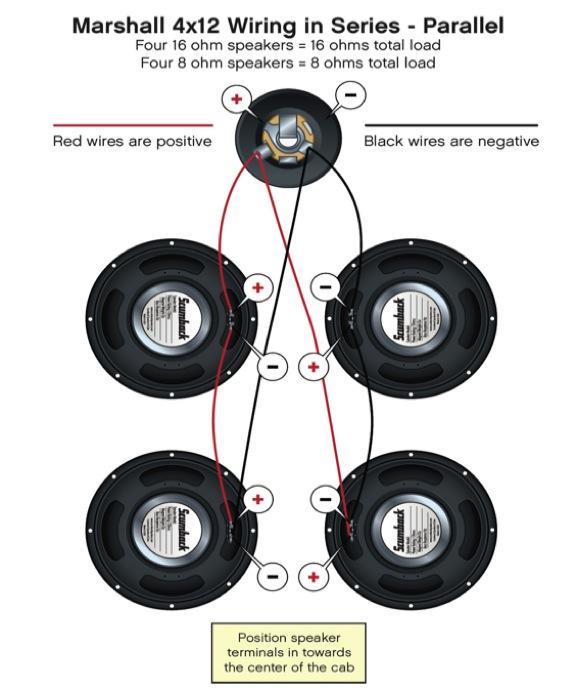 Wiring Diagram Dual 4 Ohm Wiring Diagram Series Speaker Wiring Diagram