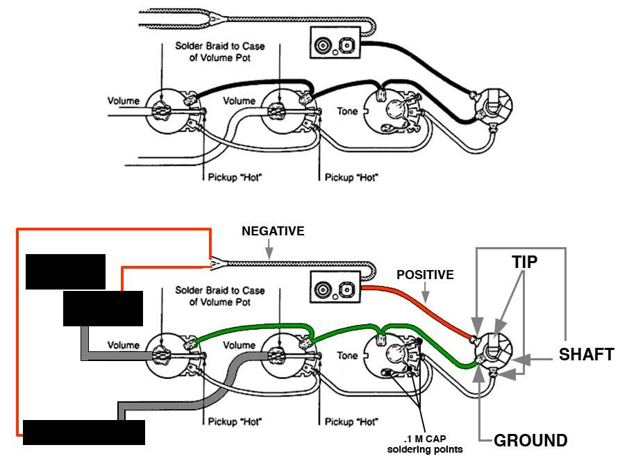 Emg Bass Pickups Wiring Diagram