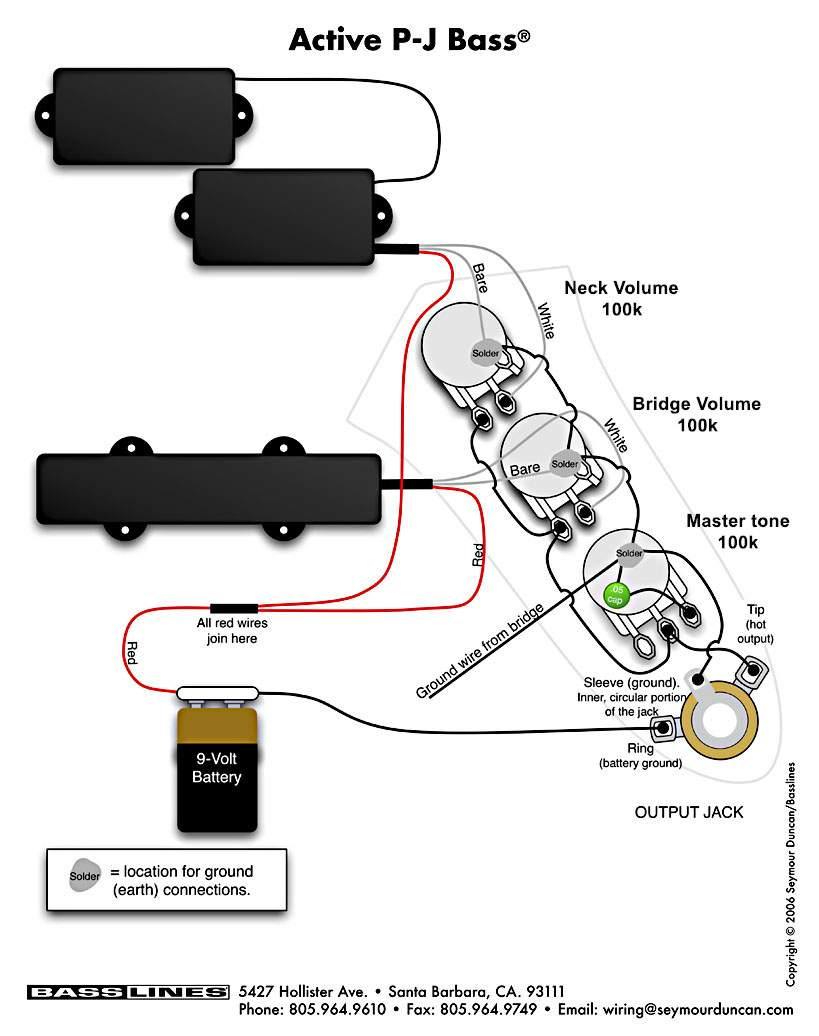 Active Passive Bass Guitar Wiring Diagram Wiring Diagrams Darren