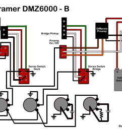 kramer dmz6000 wiring diagram with dimarzio preamp talkbass comdmz6000 wiring diagram png [ 1600 x 1236 Pixel ]