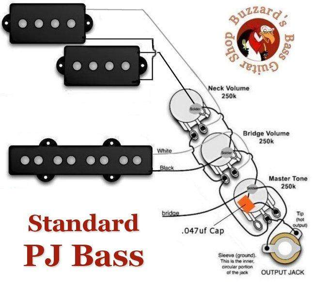 Another P J Wiring Diagram Issue TalkBass Com