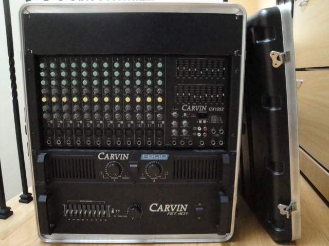 Carvin PA  Speakers monitors mixer poweramps cables
