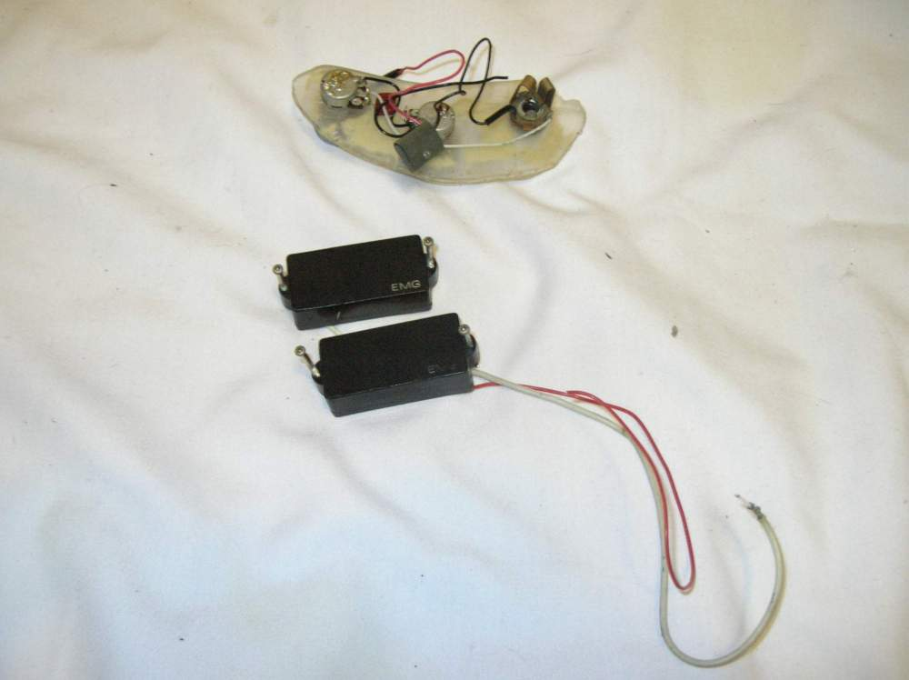 medium resolution of for sale vintage emg precision p bass pickup with active wiring harness controls