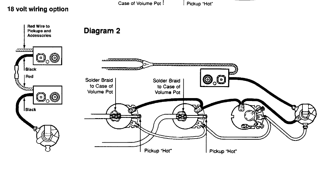 Bass Guitar Wiring Diagram