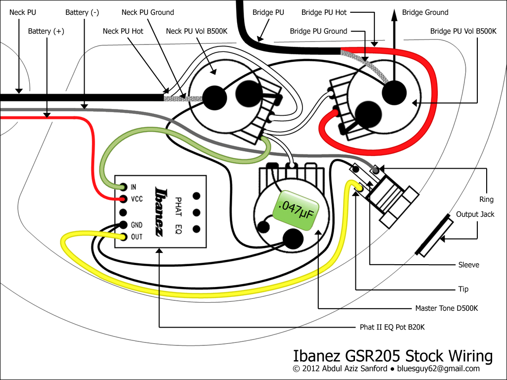 hight resolution of peavey b guitar wiring diagram wiring diagram img gsr205 wiring mod 2 soundgear series ibanez forum