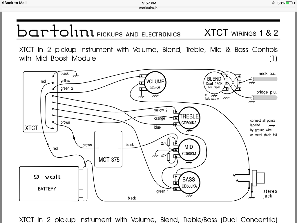 Jazz B Wiring Diagram | Repair Manual Fender Squier Jazz B Wiring Diagram on