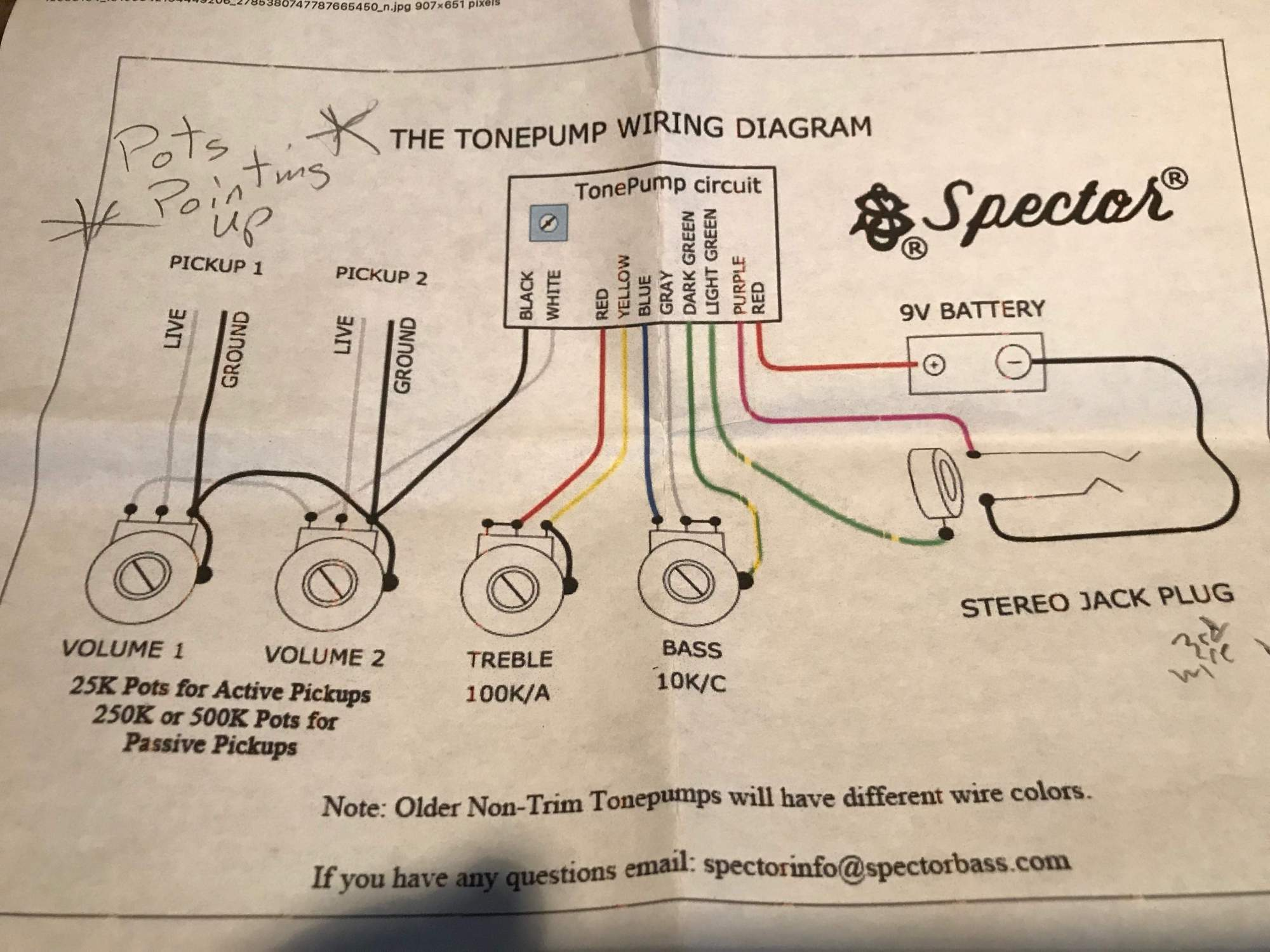 hight resolution of spector wiring schematic wiring diagram gpspector owners club page 3629 talkbass com spector wiring schematic