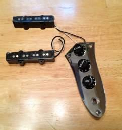 sold squier 77 vintage modified jazz j bass pickups fender jazz bass wiring schematic fender squier bass wiring diagram [ 3257 x 2443 Pixel ]