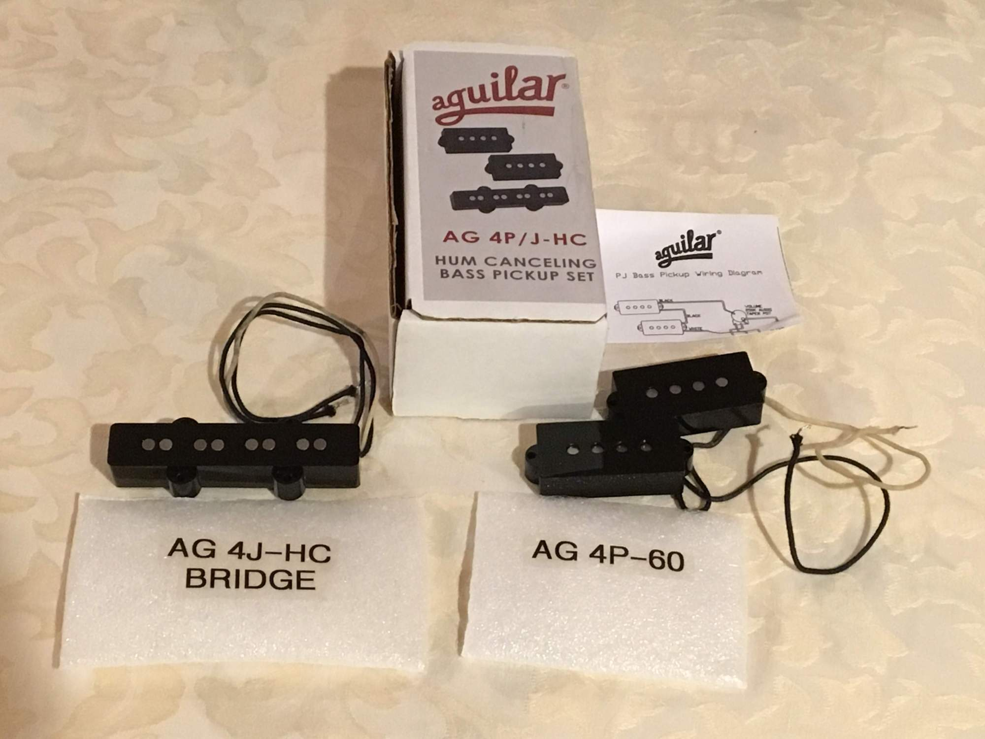 hight resolution of aguilar pj wiring diagram sold aguilar pj hum canceling bass pickup set ag 4p