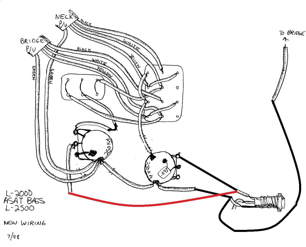 Wiring Diagram for Custom G&L MFD Humbucker Setup
