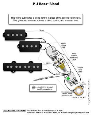 VBT wiring diagram? (Passive Fender Jazz Bass) | TalkBass