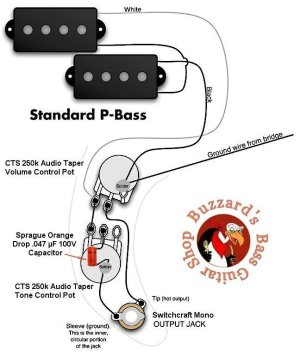 Help Diagnosing P Bass Pickup Circuit | TalkBass