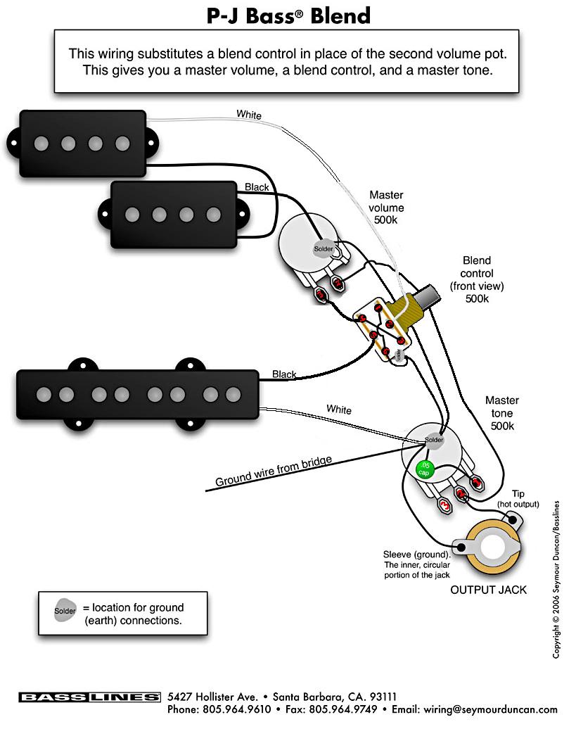medium resolution of pj humbucker wiring diagram wiring diagram page