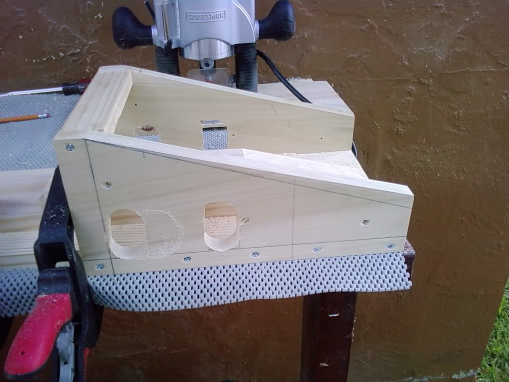 Scarf Joint Plywood Jig