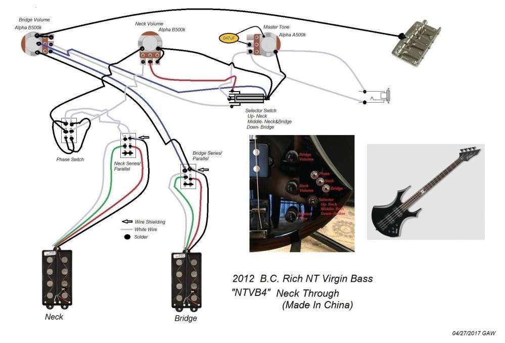 medium resolution of bc rich active pickups wiring wiring diagram schema bc rich mockingbird wiring diagram for humbucker