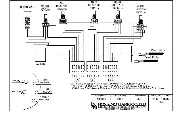 Bartolini Wiring Diagrams : 25 Wiring Diagram Images