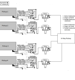 wiring a 6 position rotary switch talkbass com 6 way rotary switch wiring diagram [ 1360 x 649 Pixel ]