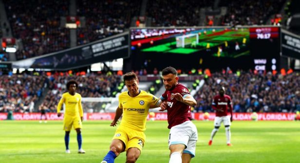 Image result for West Ham vs Chelsea 0-0
