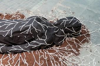 burial mushroom suit