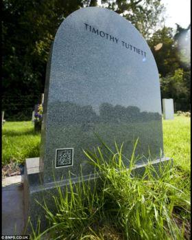 Interactive Headstone