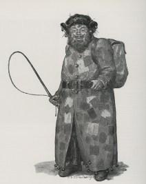 Belsnickel anti-claus