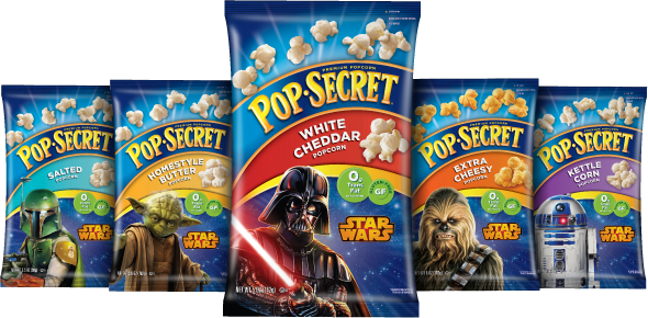 Pop Secret Star Wars