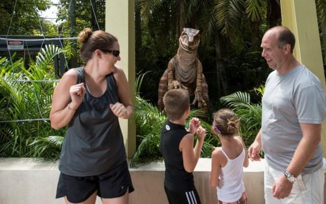 Raptor Encounter at Universal's Islands of Adventure