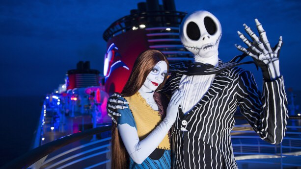 Halloween Disney cruise jack sally
