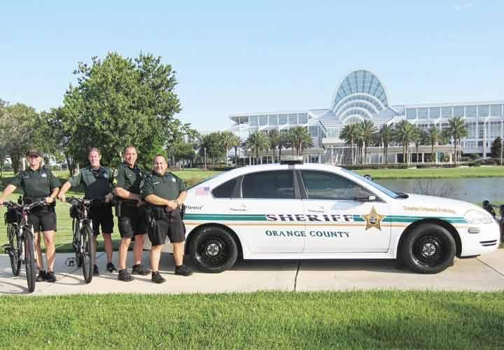 Walt Disney World cities contract with Orange County Sheriff