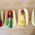disney princess hot dogs