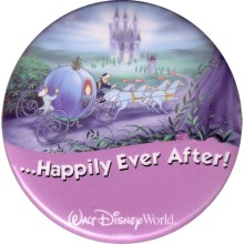 Disney World Happily Ever After Button