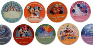 Celebration Recognition Buttons