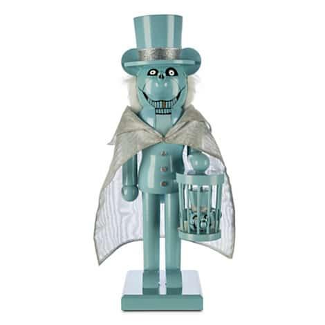 Mickey Mouse Hatbox Ghost Nutcracker Figure