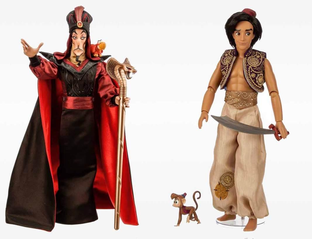 Aladdin and Jafar Limited Edition Dolls