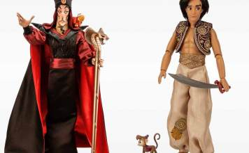 Aladdin and Jafar Limited Edition Dolls
