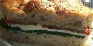 Disney Tomato Mozzarella Sandwich Recipe