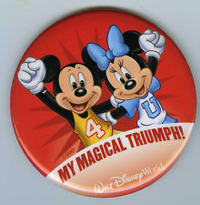 Disney World My Magical Triumph Button