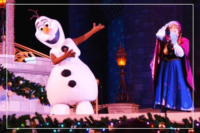 A Frozen Holiday Wish mickeys very merry christmas party