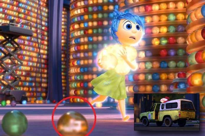 Inside Out Easter Egg Pizza Planet Truck