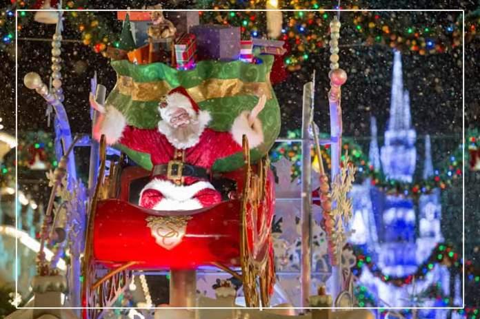 Mickeys Once Upon a Christmastime Parade