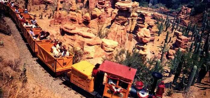 Disneyland Mine Train Through Nature's Wonderland