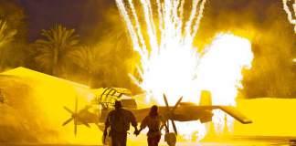 The Indiana Jones Epic Stunt Spectacular Explosion